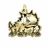 Texas Christian Horned Frogs 14KT Gold Charm