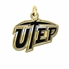 Texas El Paso Miners 14KT Gold Charm