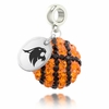 Texas State Bobcats Crystal Drop Charm