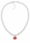 Texas Tech Pearl Necklace
