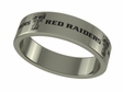 Texas Tech Red Raiders Stainless Steel Ring