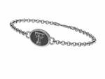 Texas Tech University RED RAIDERS Silver Bracelet