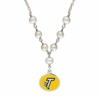 Towson Tigers Pearl Necklace
