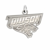 Towson Tigers Natural Finish Charm