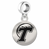 Tulane Round Dangle Charm