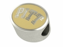 Pittsburgh Panthers Enamel Bead