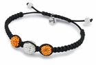 University of Tennessee Crystal Bracelet