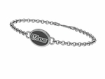University of Tennessee VOLUNTEERS Silver Bracelet