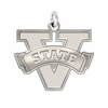 Valdosta State Blazers Natural Finish Charm