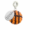 Vermont Catamounts Crystal Drop Charm