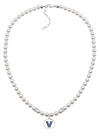 Villanova Wildcats Pearl Necklace