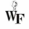 Wake Forest Deacons Logo Cut Out Dangle