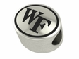 Wake Forest Demon Deacons Antiqued Bead