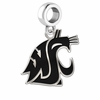 Washington State Cougars Logo Cut Out Dangle