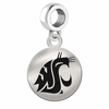 Washington State Round Dangle Charm