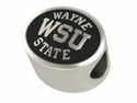 Wayne State Warriors Antiqued Bead
