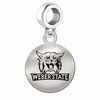 Weber State Round Dangle Charm