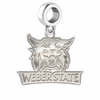 Weber State Wildcats Dangle Charm