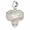 West Chester Golden Rams Dangle Charm