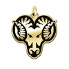 West Chester Rams 14KT Gold Charm