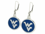 West Virginia Mountianeers Earrings