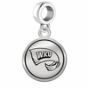 Western Kentucky Hilltoppers Border Round Dangle Charm