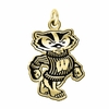 Wisconsin Badgers 14KT Gold Charm