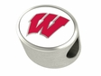 Wisconsin Badgers Premium Bead