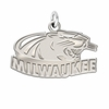 Wisconsin Milwaukee Panthers Natural Finish Charm