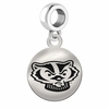 Wisconsin Round Dangle Charm
