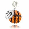 Wright State Crystal Drop Charm
