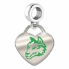 Wright State University Color Heart Dangle