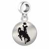 Wyoming Round Dangle Charm