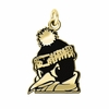 Youngstown State Penguins 14KT Gold Charm