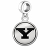 Youngstown State Penguins Border Round Dangle Charm