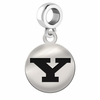 Youngstown State Round Dangle Charm