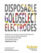NEW GoldSelect™ Disposable Disc / Cup Electrodes