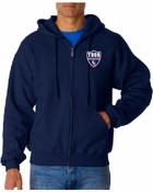 TOCA FC 9.3oz Full Zip Hooded Sweatshirt TFC-10023