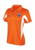 TOCA FC Orange/White Agility Womens Polo TFC-10035