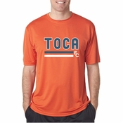 TOCA FC Performance Orange Tee TFC-10036