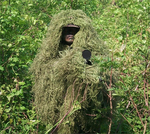 "The ""Tracker"" Ghillie Poncho, Jute"