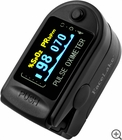 CMS-50D Fingertip Pulse Oximeter - Blood Oxygen Monitor (Black) - with Case