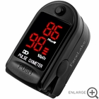 CMS-50DL Fingertip Pulse Oximeter - Blood Oxygen Monitor (Black) - with Case