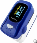 FL-100 Fingertip Pulse Oximeter - Blood Oxygen Monitor with Alarm & Case