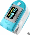 FL-50B Fingertip Pulse Oximeter & Pedometer with Bluetooth & Carry Case