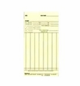 "FORM # N-4600 TOP LOADING TIME CARDS - 3-3/4"" X 7"" - 1,000 Time Cards/Box"