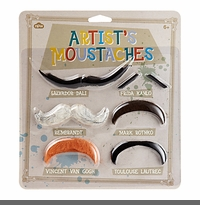 ARTISTS' FAKE MOUSTACHES - BACK IN STOCK!