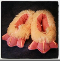 DUCK FEET - TODDLER-SIZED SLIPPERS - BACK IN STOCK!