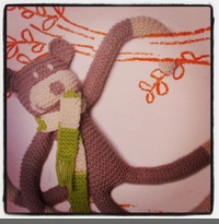 KNIT-IT MONKEY - KIT
