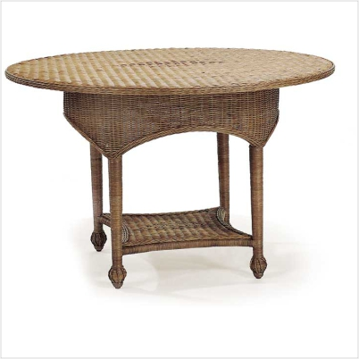 48� Wicker Garden Table